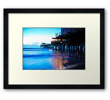 Toes in the Sand Framed Print