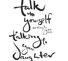 + Self-talk via Amy Poehler by ZenRecoveryORG