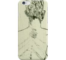 fara monprint - back view iPhone Case/Skin