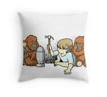 Evol-ution - Print version Throw Pillow