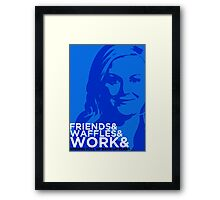 Knope And Framed Print