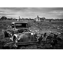 Farm Days Photographic Print