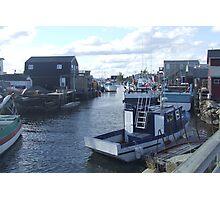 Fisherman's Cove, Nova Scotia, Canada Photographic Print