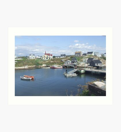 Peggy's Cove, Nova Scotia, Canada Art Print