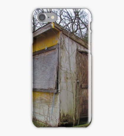 Yellow shack iPhone Case/Skin