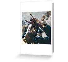 Travi$ Scott's Hand of God Greeting Card
