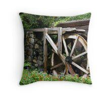 Water-wheel Throw Pillow