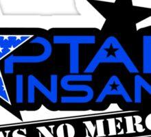 captain-insano-for-light Sticker