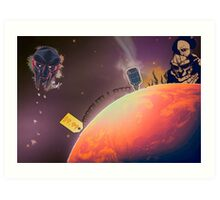 MF DOOM - Planet DOOM Art Print
