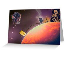 MF DOOM - Planet DOOM Greeting Card