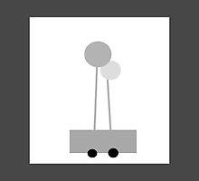POPPY LOPS, little wagon art.  by ackelly4
