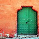 Door In Orange by Josh Wentz