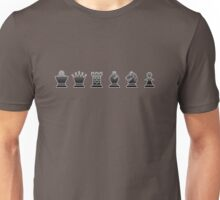 Chess - Black pieces Unisex T-Shirt