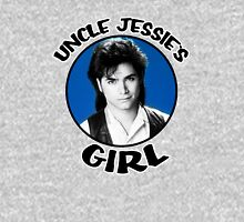 Uncle Jessie's Girl - Blue Womens Fitted T-Shirt