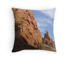 Chambers Gorge Alice Springs Throw Pillow