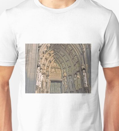 Entrance, Cologne Cathedral, Germany Unisex T-Shirt