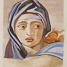 The Delphic Sibyl by Colombe  Cambourne