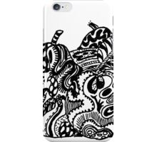 Fruit 1 - An Aussie Tangle Black & White  iPhone Case/Skin