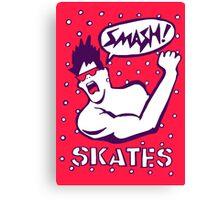 Smash Skates Thrashin' Canvas Print