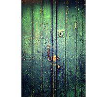 Blue Door In Avanos Photographic Print