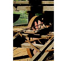 """ Wagon Mechanic"" Photographic Print"