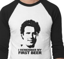 I Remember My First Beer - Brennan Men's Baseball ¾ T-Shirt