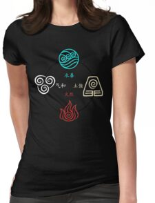 Avatar Cycle Womens Fitted T-Shirt