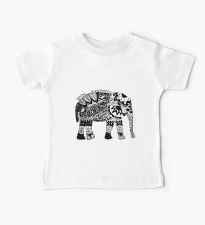You're Irrelephant Baby Tee