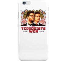 The Terrorists Won iPhone Case/Skin