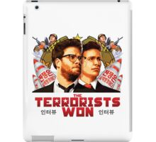 The Terrorists Won iPad Case/Skin