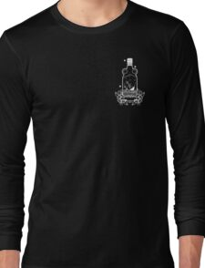 FLOAT OR DROWN CREST PRINT Long Sleeve T-Shirt