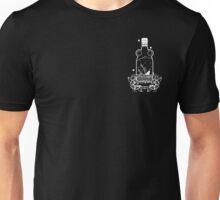 FLOAT OR DROWN CREST PRINT Unisex T-Shirt