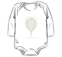 Modest Mouse Float on With Balloon One Piece - Long Sleeve