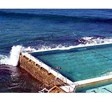 Icebergs Pool Photographic Print