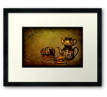 Russian Tea Room Framed Print