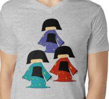 3 Japanese Girls Mens V-Neck T-Shirt