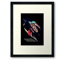 Blackbeard a.k.a. Marshall d Teach Framed Print