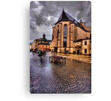 Shiny Cobbles Canvas Print