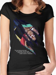 Blackbeard a.k.a. Marshall d Teach Women's Fitted Scoop T-Shirt