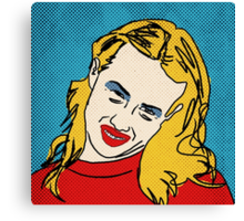 Miranda Sings Warhol 1 Canvas Print
