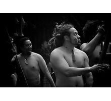 I am Maori Photographic Print