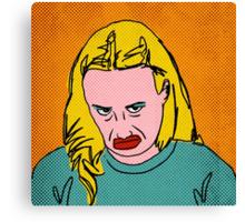 Miranda Sings Warhol 3 Canvas Print