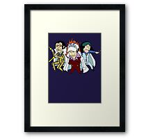 Big Three Framed Print