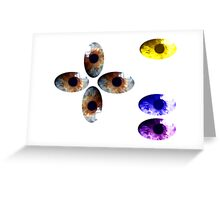 Staring Contest - Did you blink? Greeting Card