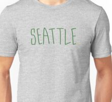 Seattle Supe - City Scroll Unisex T-Shirt