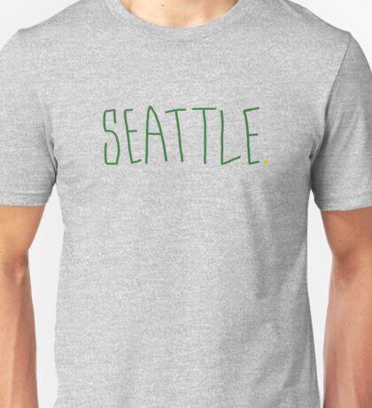Seattle Supe - City Scroll Unisex T-Shirt