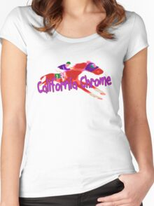 Fun California Chrome (Preakness) Women's Fitted Scoop T-Shirt