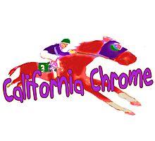 Fun California Chrome (Preakness) Photographic Print