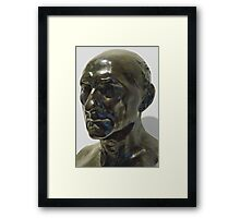 Study of Sculpture By Auguste Rodin, Bronze,  Sculptor's Patina Framed Print