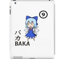 BAKA!! ⑨⑨⑨⑨⑨⑨⑨⑨⑨⑨ CIRNO STRONG! iPad Case/Skin